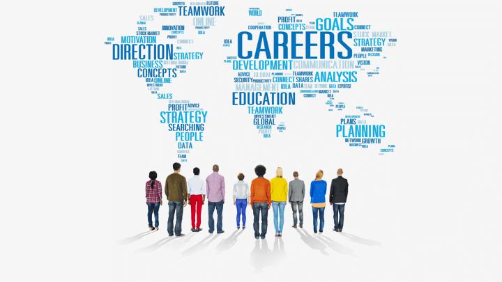 Careers map - Kariera